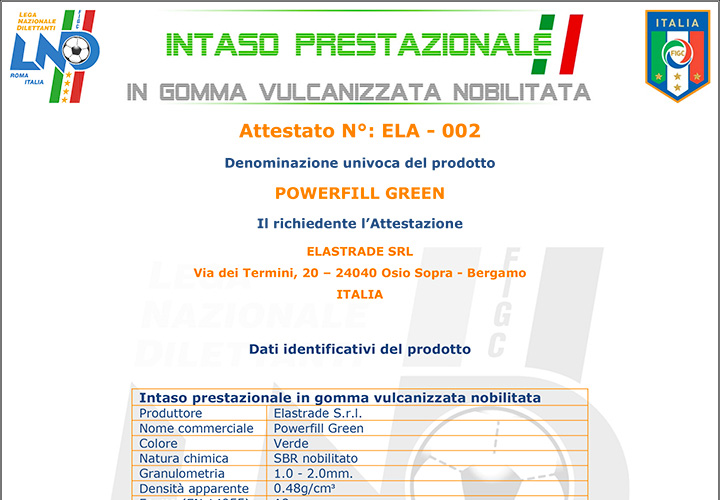 italian norm LND-UNI
